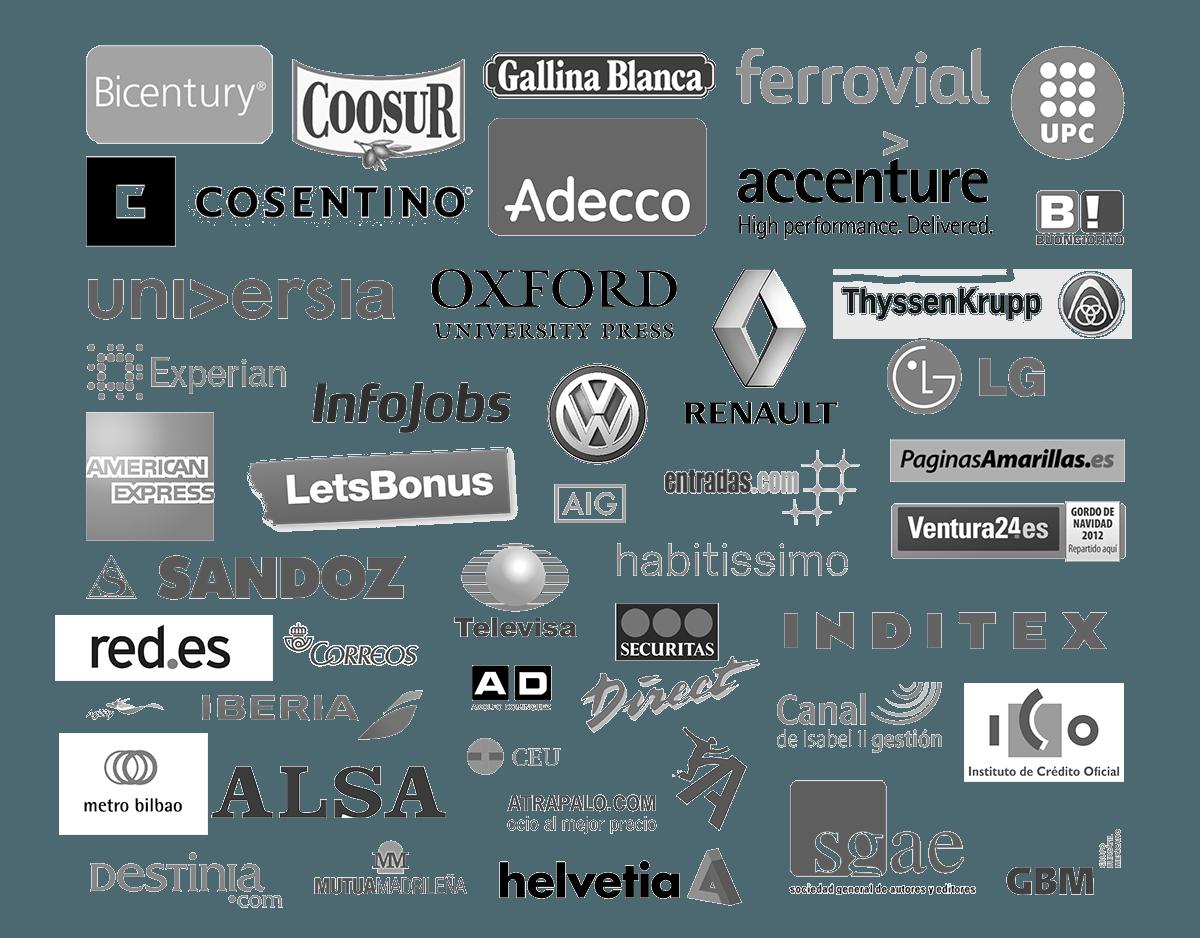 Empresas que colaboran con IEBS